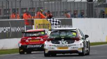 Morgan hails 'sweet' race three victory