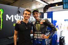 Valentino Rossi planning helmet swap with Lando Norris