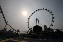 F1 Singapore Grand Prix - FP1 Results
