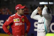 Vettel, Hamilton criticise F1 reverse grid idea