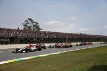 F1 Brazilian Grand Prix - Race Results