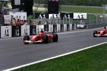 Schumacher's 2002 title-winning Ferrari F1 car to be auctioned