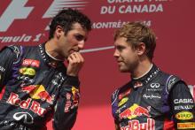 Ricciardo sees similarities to 2014 in Vettel's current struggles
