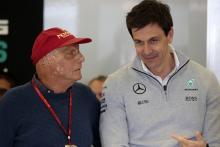 Niki Lauda, Toto Wolff, Mercedes, F1,