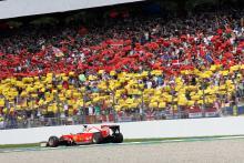 Sebastian Vettel, Ferrari, German GP,
