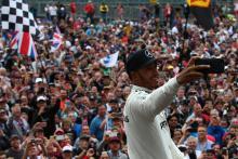 Lewis Hamilton, Mercedes, British GP,