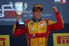 Ferrari protege Alesi stays with Trident in GP3