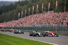 Belgian GP extends F1 contract to 2021