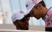 Ocon learning from Hamilton's 'impressive' F1 debriefs
