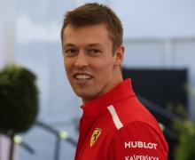Daniil Kvyat, Ferrari, F1,