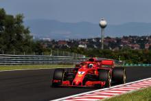 Raikkonen heads morning for Ferrari on final day of Hungary test
