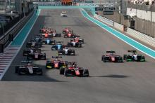 GP3 Abu Dhabi - Race 2 Results