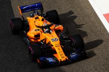 Sainz warns McLaren against getting 'overexcited' with aims