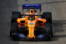 Sainz makes McLaren F1 bow as Kvyat returns to Toro Rosso