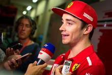 Leclerc focusing on opportunity, not nerves, as Vettel's teammate