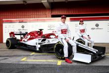 Alfa Romeo's 2019 F1 car officially unveiled