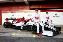 Alfa Romeo's 2019 F1 car officially unveiled