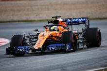 Barcelona F1 Test 1 Times - Tuesday 10am