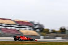 Barcelona F1 Test 1 Times - Wednesday 12PM