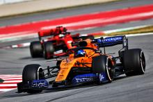 Sainz fastest as Vettel crashes in disrupted morning F1 test