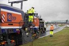 Silverstone, resurfacing work,