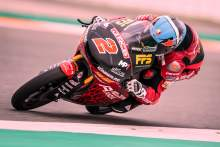 Gabriel Rodrigo in great form ahead of Moto3 season