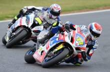 Rookie Ryde powers to maiden BSB win at Silverstone