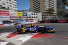 Rossi rises to the fore in final Long Beach practice