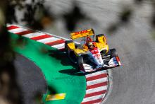 Ryan Hunter-Reay breaks through in afternoon practice at Laguna Seca