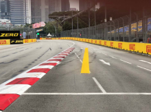 F1 drivers warned over Singapore track limits