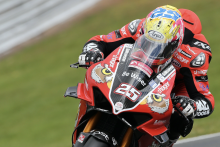 Brookes on top in rain-hit FP1 at Oulton Park