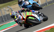 Barbera back in at Quattro Plant JG Speedfit Kawasaki for Thruxton
