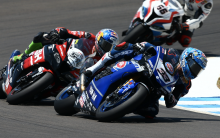 Melandri slapped with Misano grid penalty for Davies clash