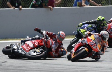 """Marquez defends Lorenzo: """"He wasn't out of control"""""""