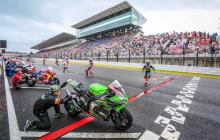 Suzuka 8 Hours start [credit: Endurance World Championship]