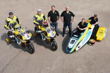 Dan Linfoot, Shaun Winfield, Chris Walker, Santander Salt TAG Racing,