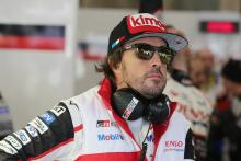 Alonso: A long time since I started on the front row...