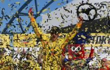 Logano hits the jackpot in Las Vegas