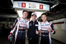 Hartley, Nakajima lead Toyota 1-2 in Fuji WEC qualifying