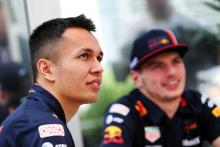 """Albon knows he needs to """"close the gap"""" to Verstappen"""