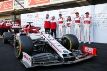 Alfa Romeo becomes final F1 team to launch 2020 car