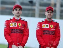 Charles Leclerc, Sebastian Vettel, Ferrari, F1,