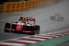 Vesti holds on before rain stops play in Austria