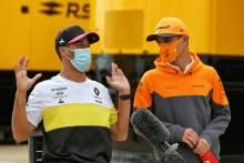 Norris 'curious' to discover F1 teammate Ricciardo's approach at McLaren