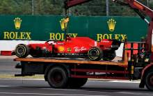 "Vettel given ""no warning"" to ""very sudden"" F1 engine failure"