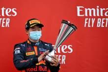 Honda protege Tsunoda leads F2-to-F1 tips to graduate in 2021