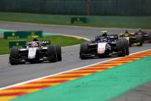 FIA F2 Belgium - Sprint Race Results