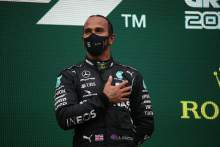 'I'm not an unsung hero' - F1 champion Hamilton on knighthood prospect