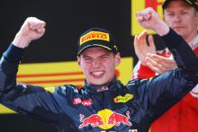 Max Verstappen's F1 wins ranked