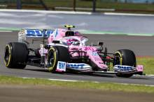 Stroll heads F1 British GP second practice, big crash for Albon